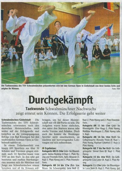 German Open Giebelstadt 2014