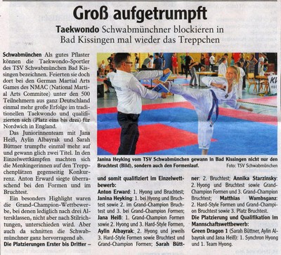 Martial Arts Bad Kissingen 2015